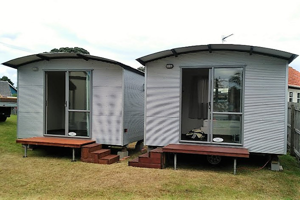 Portable cabins for sale or rent, Sleepouts, Granny flats, Tourist